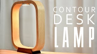 DIY Contour LED DESK Lamp