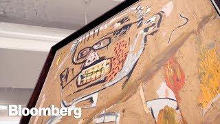 Inside the Underground Art Vault at Christie