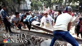 7.1-Magnitude Earthquake Rattles Mexico City | NBC Nightly News