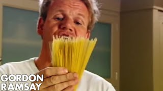 How To Cook The Perfect Pasta - Gordon Ramsay