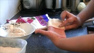 SAMOSA SHEET FROM SCRATCH *COOK WITH FAIZA*