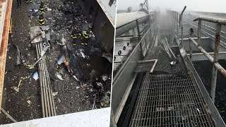 Helicopter Crash-Lands on Midtown Manhattan High-Rise Roof; 1 Dead | NBC New York