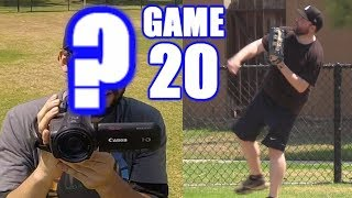 I PLAY LEFT FIELD AND SOMEONE ELSE FILMS!   On-Season Softball Series   Game 20