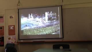 الطلاب الأجانب في احد معاهد ملبورن في استراليا ينبهرون من القرآن