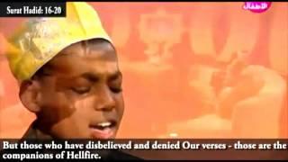 Heart flying Quran recitation by young Muslim Abu Baker Kary Mashaallah with Transilations