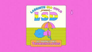 LSD - Thunderclouds (Lost Frequencies Remix) (Official Audio)