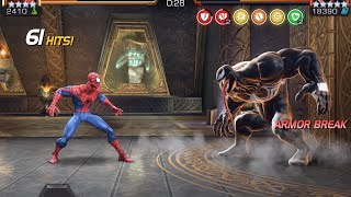 Spider-Man vs. Venom Alliance Quest Boss Battle | Marvel Contest of Champions