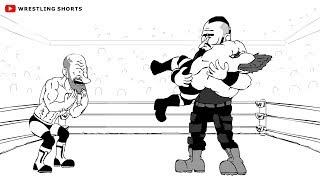 Braun Strowman vs Sheamus and Cesaro WrestleMania 34 Parody Cartoon