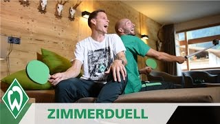 Zimmerduell: Niklas Moisander & Luca Caldirola | SV Werder Bremen