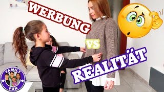 WERBUNG VS REALITÄT | MILEY BEWERTET OUTFITS | TOP ODER FLOP? |  FAMILY FUN