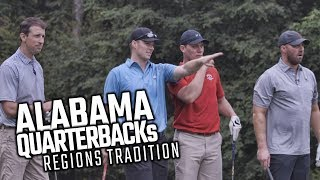 Watch Alabama Quarterbacks at the Regions Tradition Pro-Am