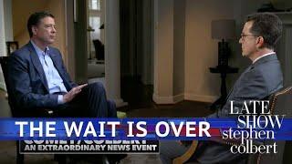 Comey/Colbert: An Extraordinary News Event