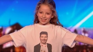 8 YO Girl Issy SHOCKS Everyone With Her Magic | Audition 2 | Britain