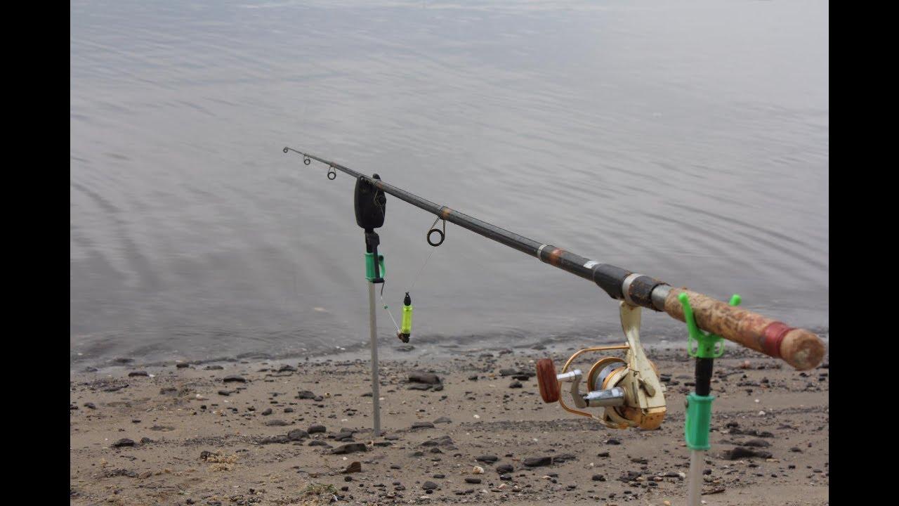 ловля рыбы на пружину на днепре