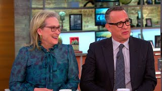 """Meryl Streep and Tom Hanks on the relevance of """"The Post"""" today"""