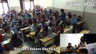 Girl Sexually Abused in Classroom by Professor!