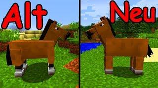 Neue Pferde & Commands! - Minecraft Update 1.13 - Snapshot 17w45a