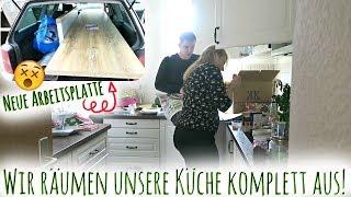 Küche ausräumen! | Neue Küche kaufen & Fortschritte in der neuen Wohnung | Umzugsvlog #8