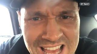 """""""SORE LOSERS!"""" Tyson Fury"""