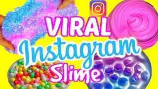 VIRAL INSTAGRAM SLIME TESTED!