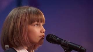 【中英字幕】12岁萝莉原创歌曲震惊评委 美国达人 Grace Vanderwaal 下一个Taylor Swift (Full Audition)