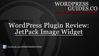 Jetpack Image Widget WordPress Plugin Review