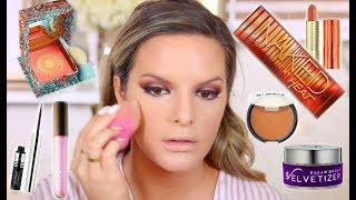 TESTING HOT NEW MAKEUP! FIRST IMPRESSIONS   Casey Holmes