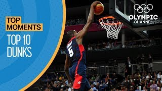 Top 10 Olympic Dunks   Top Moments