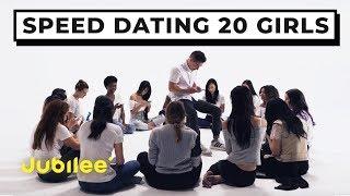 20 vs 1: Speed Dating 20 Girls   Jubilee x Solfa