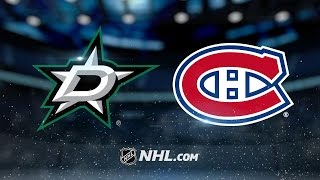 Markov makes franchise history as Habs beat Stars