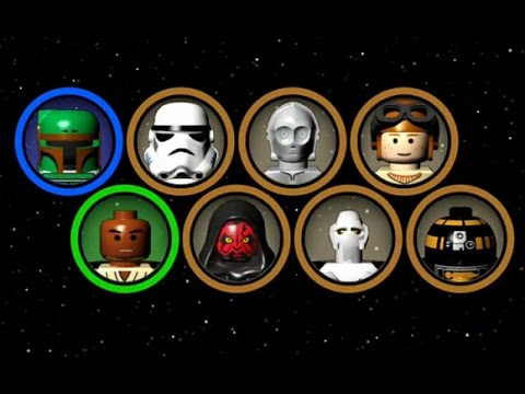 Lego Star Wars The Complete Saga Character And Minikit Bonus