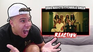 """REACTING TO Lil Pump """"Drug Addicts"""" (Official Music Video)"""