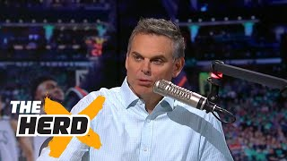 Colin Cowherd reacts to the death of Aaron Hernandez | THE HERD
