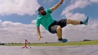 Slip and Slide Football Battle | Dude Perfect