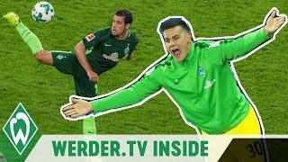 Zlatko Junuzovic ist zurück & Zetterer motzt sich zum Titel! | WERDER.TV Inside nach dem Nordderby