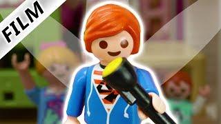 Playmobil Film deutsch   TALENT SHOW - WAS FÜHREN JULIAN + EMMA AUF?   Kinderserie Familie Vogel