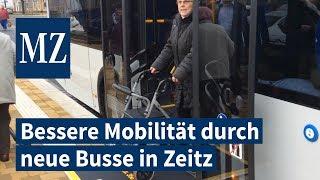 Neue Busse in Zeitz: zugeschnitten auf Menschen mit beschränkter Mobilität