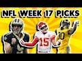 NFL Week 17 Picks 2018mp3