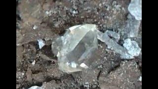 Mining Herkimer Diamonds