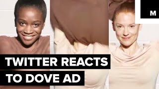 Twitter reacts to Dove