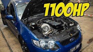 1100hp Turbo Six Ute at Summernats