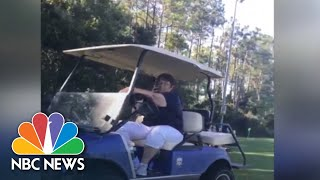 Video Shows 'Golf Cart Gail' Calling Police On Black Father At Soccer Game | NBC News