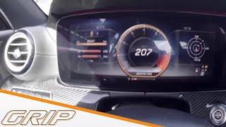 Mit dem E63 AMG auf der Bahn - GRIP - Preview Folge 393 - RTL 2