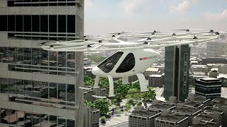 RTA and Volocopter operate Autonomous Air Taxi (AAT) in Dubai