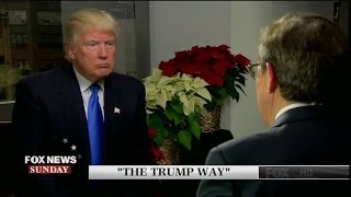 """The Trump Way"" President-Elect First Exclusive Interview Since Winning Election"