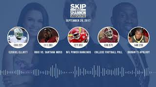 UNDISPUTED Audio Podcast (9.20.17) with Skip Bayless, Shannon Sharpe, Joy Taylor   UNDISPUTED