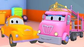 Die Lackierwerkstatt von Tom dem Abschleppwagen : Prinzessin Charlotte | Lastwagen Cartoons