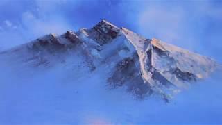 Ölmalerei - Himmel, Wolken, Berge, Nebel