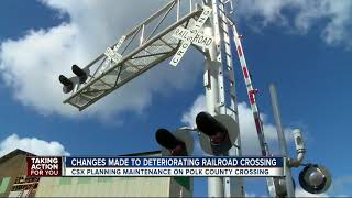 Taking Action for You: Polk Co. railroad to be fixed after drivers complain