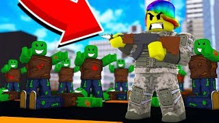 I Decided To Fight Them ALL Solo.. BAD IDEA (Roblox Zombies)